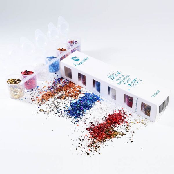 Holland - Superstar Chunky Mix - glitters