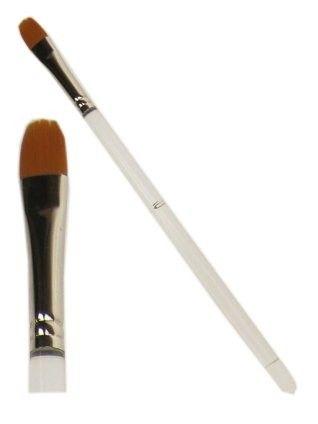 PXP penseel plat met ronde top 10 mm breed