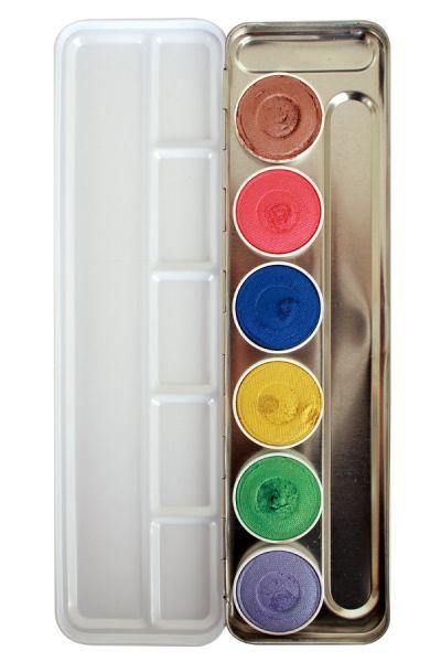 Superstar schminkpalet Shimmer 6 kleuren