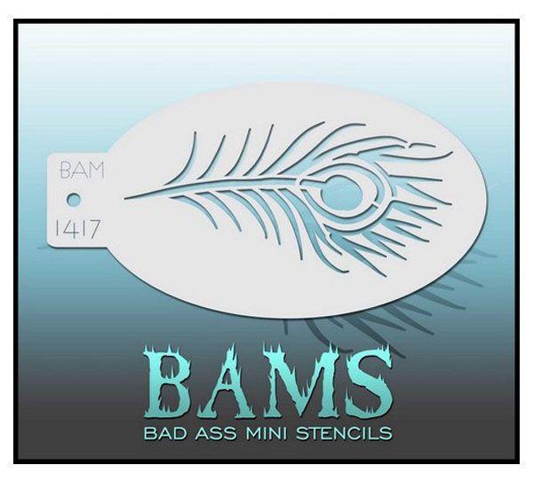 Bad Ass BAM schminksjabloon 1417