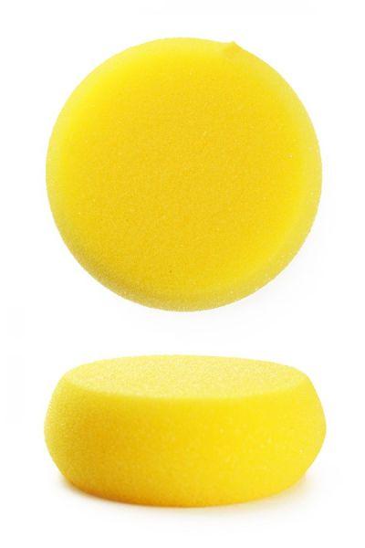 Schminkspons geel afgerond