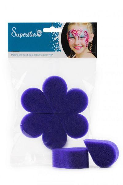 Superstar Eco Vlinder schminkspons