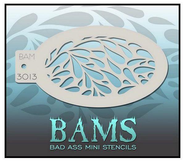 Bad Ass BAM schminksjabloon 3013