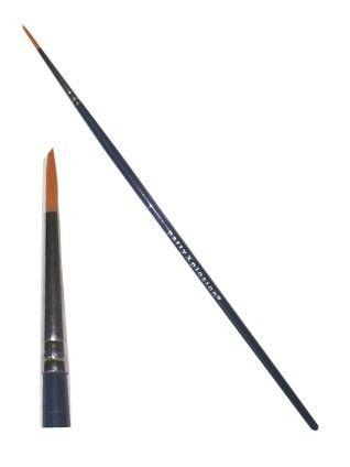 PXP lip- en eyeliner schminkpenseel in verschillende maten