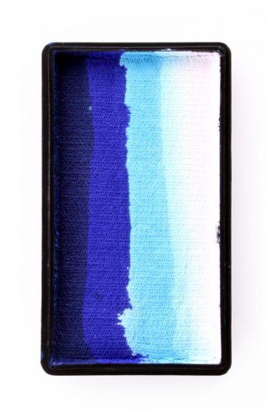 PXP splitcake diepblauw blauw lichtblauw wit PartyXplosion