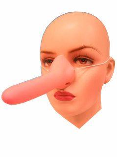 Pinoccio neus rubber