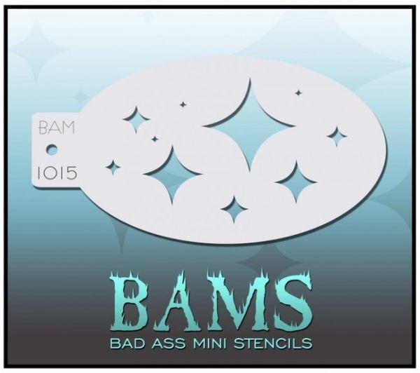 Bad Ass BAM schminksjabloon 1015