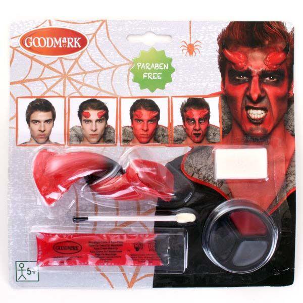 GoodMark Schmink set met duivel neus voor Halloween