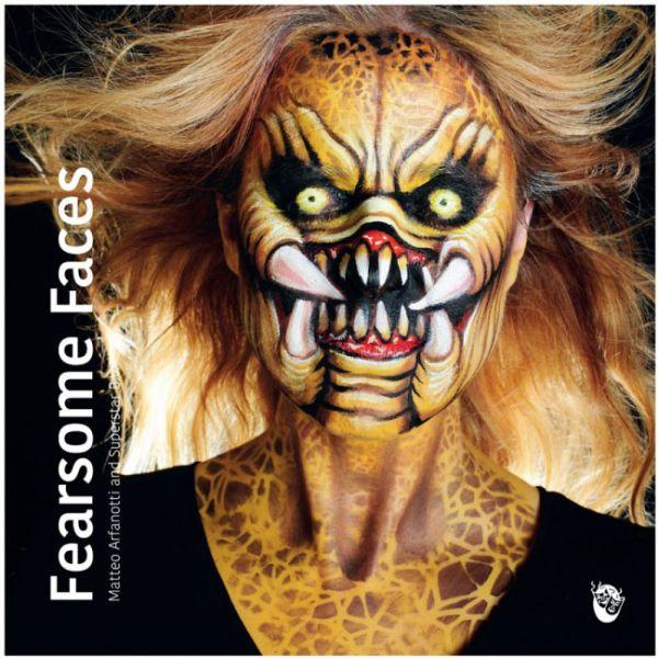 Schminkboek Fearsome Faces Matteo Arfanotti and Superstar