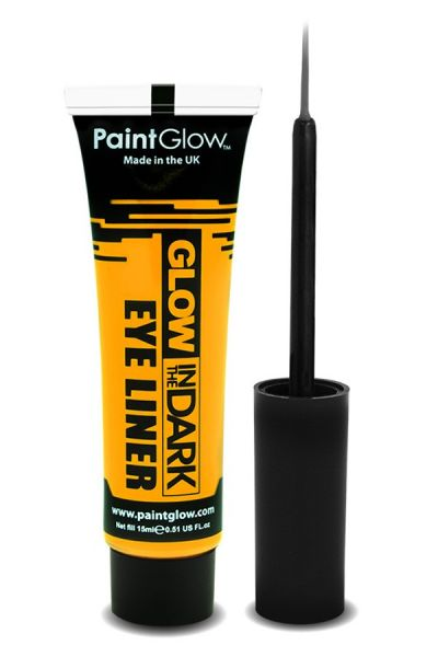 PaintGlow Glow in the dark eyeliner UV neon geel