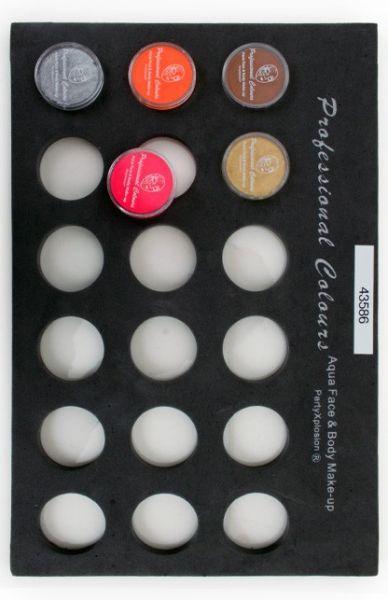PXP Schminkkoffer Tray voor 10 grams schminkpotjes
