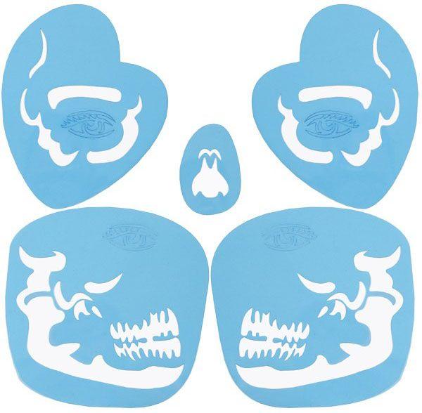 PXP Schmink-sjabloon Tribel Skull