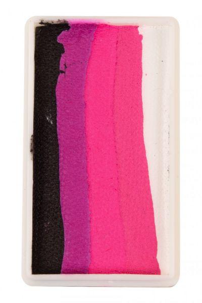 PXP splitcake Zwart Magenta Neonrood Roze wit