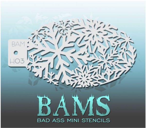 Bad Ass BAMS schminksjabloon H03