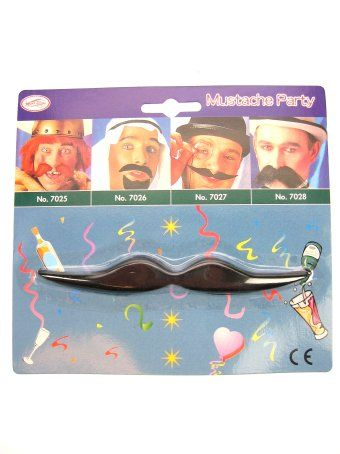 Mustache black French Monsieur