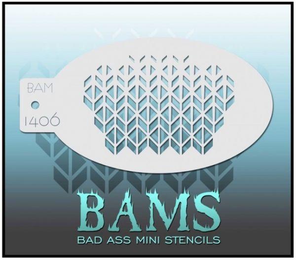 Bad Ass BAM schminksjabloon 1406