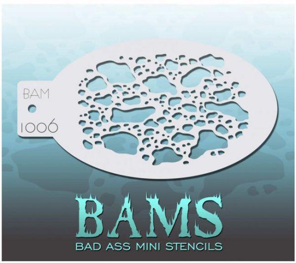 Bad Ass BAMS schminksjabloon 1006