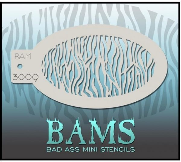 Bad Ass BAM schminksjabloon 3009