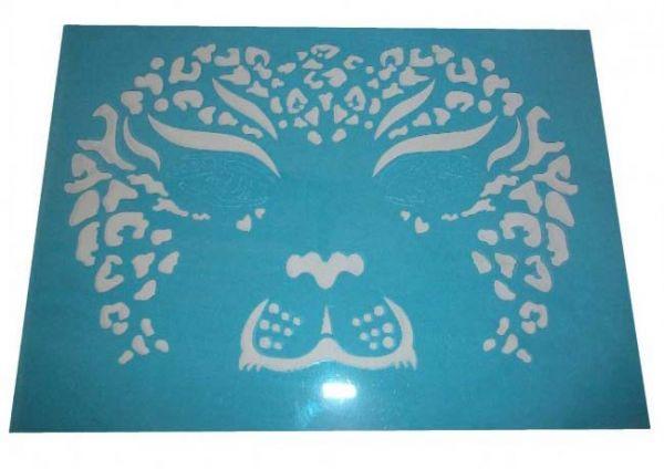 Face Paint Stencils tiger