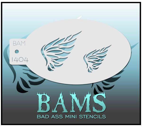 Bad Ass BAMS stencil 1404