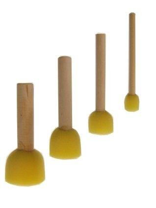 Facepaint sponge brushes set