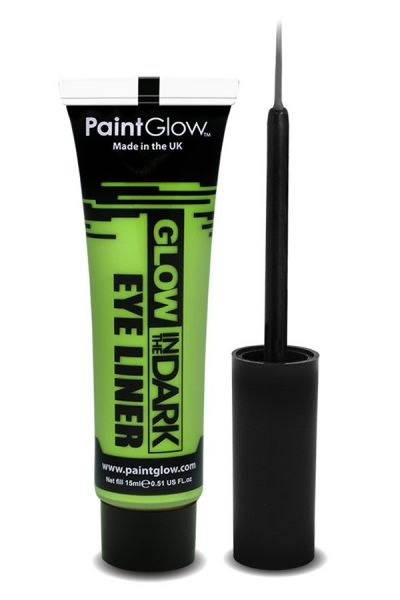 PaintGlow Glow in the dark eyeliner UV neon groen